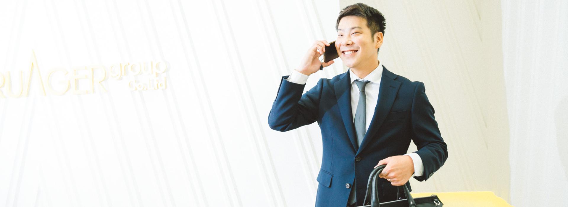 2015年入社 営業部門 統括マネージャー
